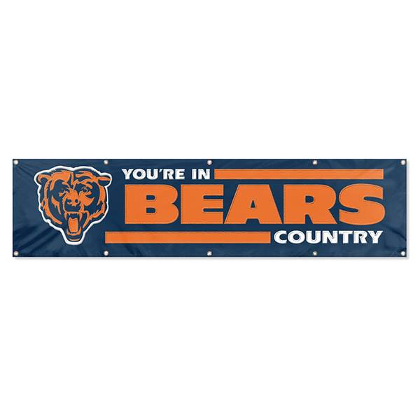 Chicago Bears Embroidered Party Banner