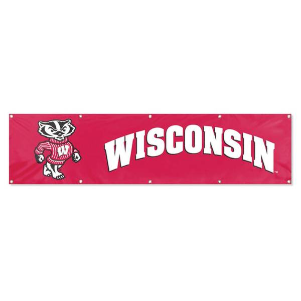 University of Wisconsin Embroidered Party Banner