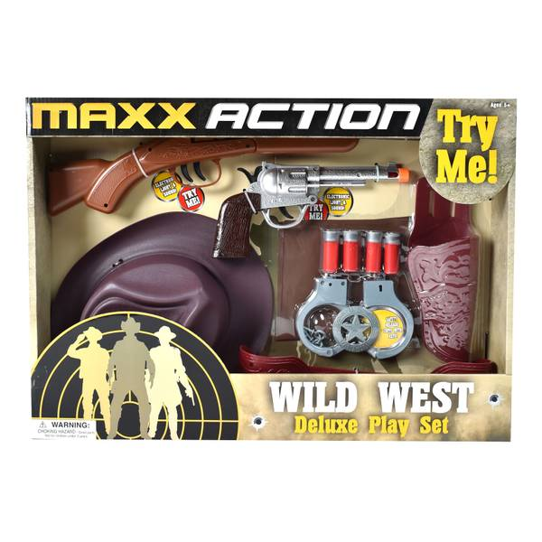 Wild West Dress-Up Play Set