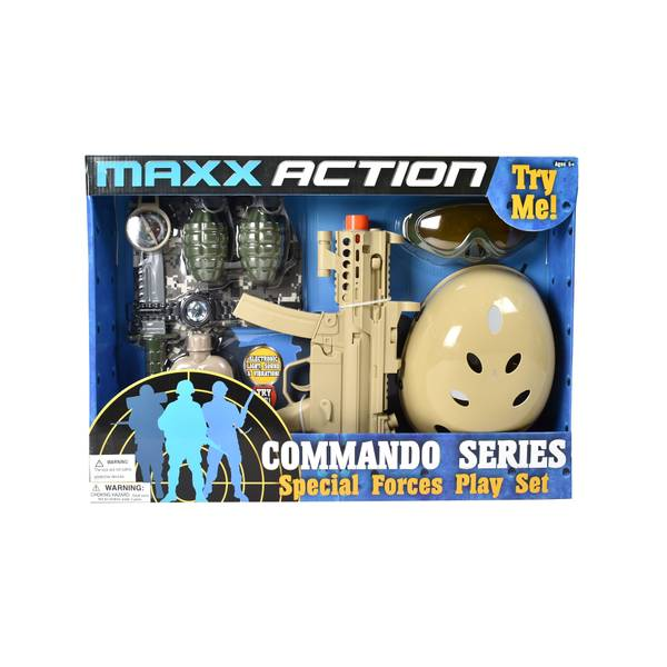 Special Forces Dress-Up Play Set