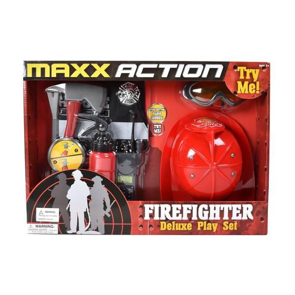 Firefighter Dress-Up Play Set