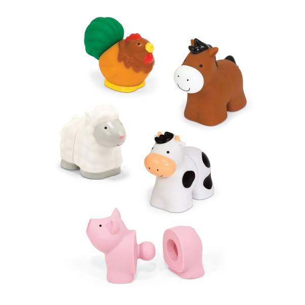 Pop Blocs Farm Animals Play Set