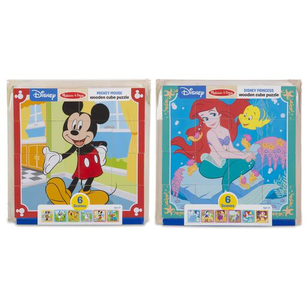 Disney Cube Puzzle Assortment