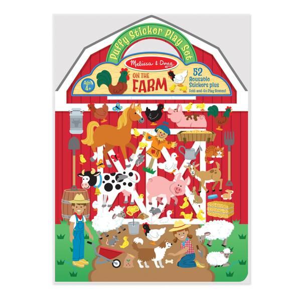 Farm Puffy Sticker Play Set
