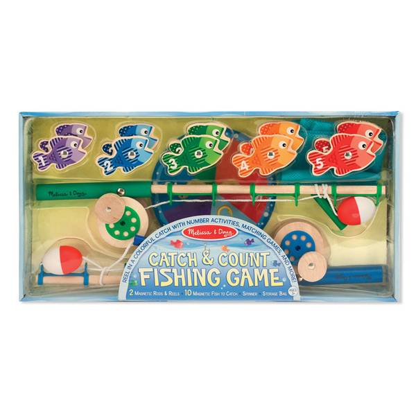 Catch & Count Magnetic Fishing Play Set