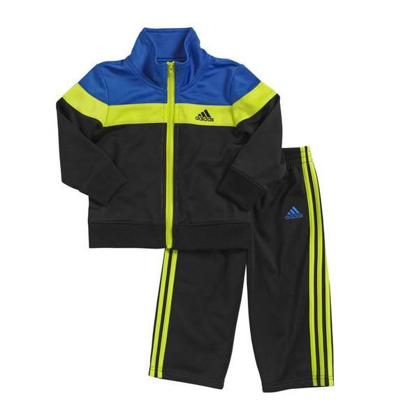 Infant Boy's Bright Blue Elite Tricot Set