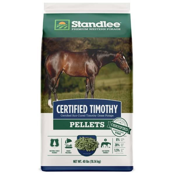 Certified Timothy Pellets