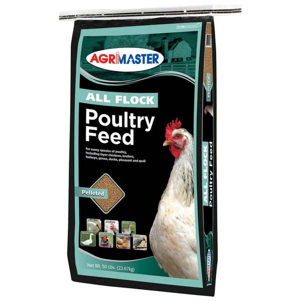 All Flock Pelleted Poultry Feed