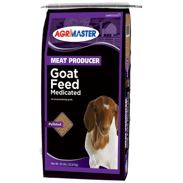 Pelleted Goat Feed