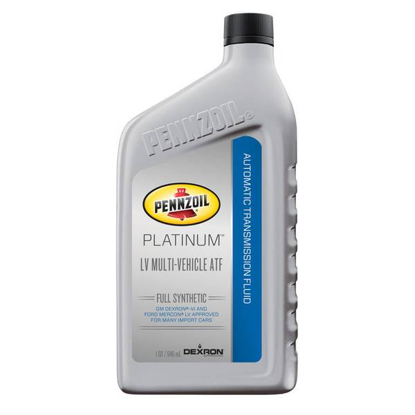 1 Quart Platinum Dexron-VI Automatic Transmission Fluid