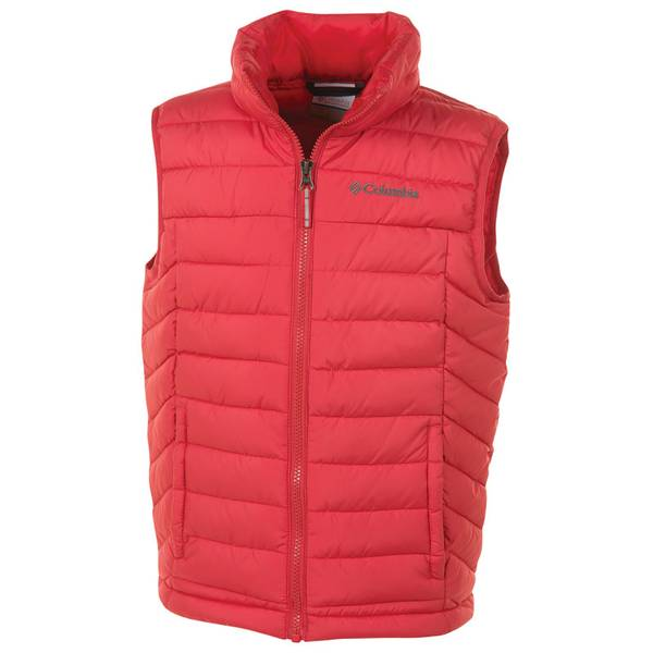 Boy's Bright Red Powder Lite Vest