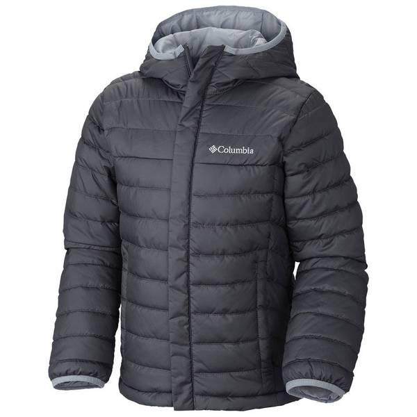 Boy's Graphite Powder Lite Puffer Coat