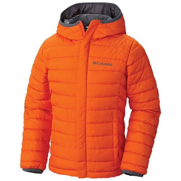 Boy's Tangy Orange Powder Lite Puffer Jacket
