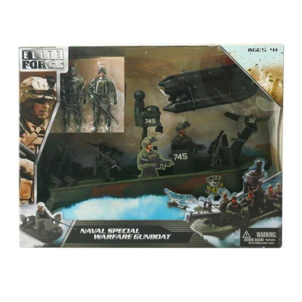 Naval Special Warfare Gunboat Vehicle Assortment