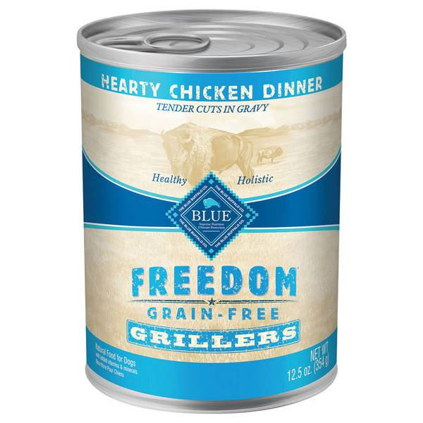 Freedom Grain Free Grillers Hearty Chicken Dinner Wet Dog Food