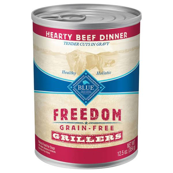 Freedom Grain Free Grillers Hearty Beef Dinner Wet Dog Food