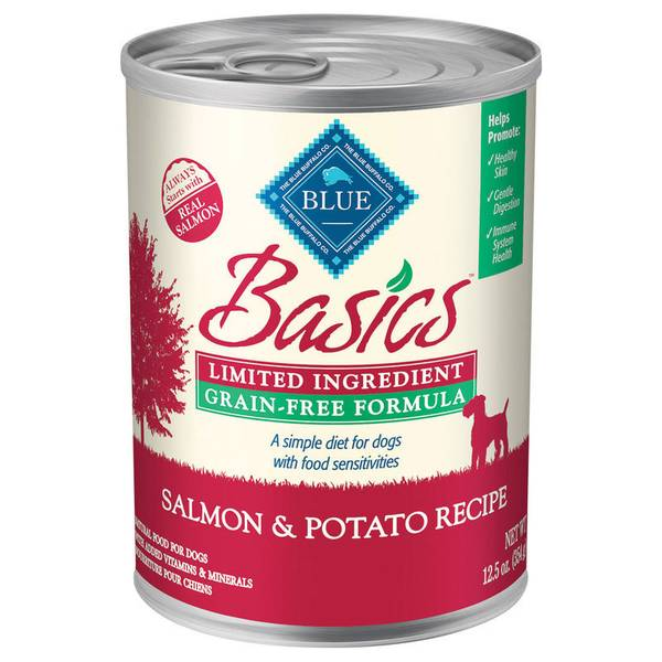 Basics Grain Free Salmon & Turkey Dog Can Food
