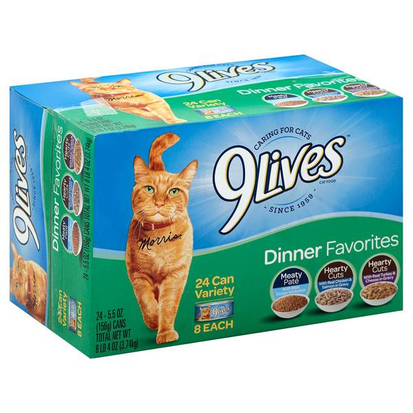 Dinner Favorites Wet Cat Food Variety Pack