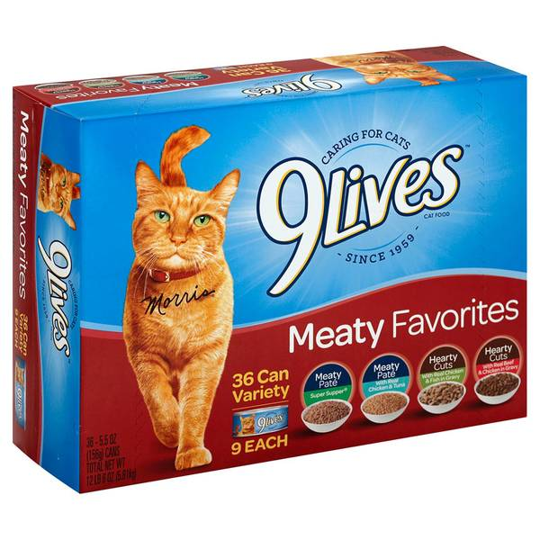 Meaty Favorites Cat Food Variety Pack