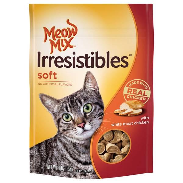 Irresistibles Soft Cat Treats
