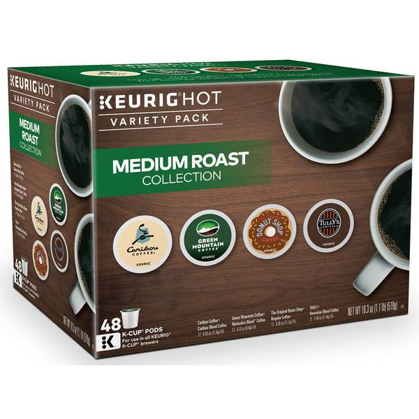 Medium Roast Coffee K-Cup Variety Pack