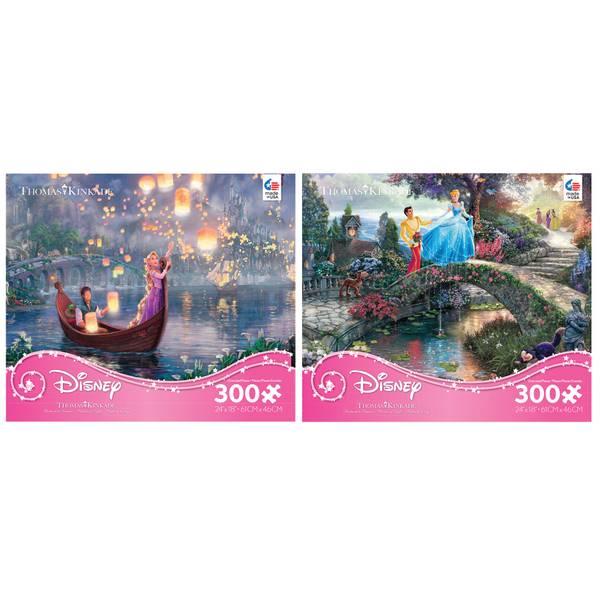 Disney's Cinderella Thomas Kinkade Puzzle Assortment