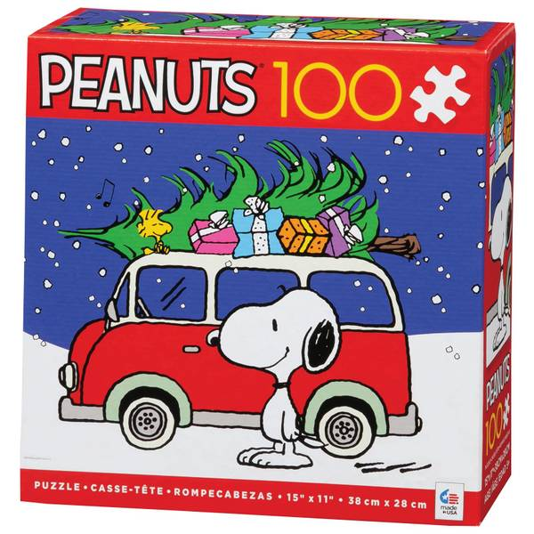 Peanuts Snoopy's Doghouse Holiday Puzzle Assortment