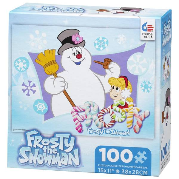 Frosty The Snowman Holiday Puzzle Assortment
