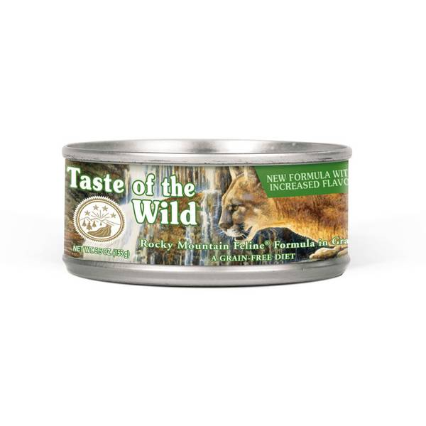 5.5 oz Rocky Mountain Feline Canned Cat Food