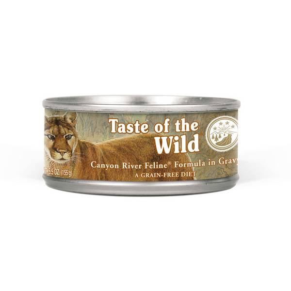 3 oz Canyon River Salmon & Trout Canned Cat Food