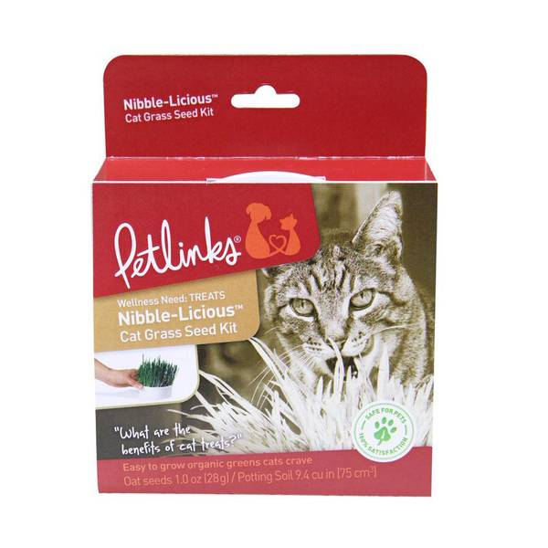 Nibble-Licious Complete Cat Grass Kit
