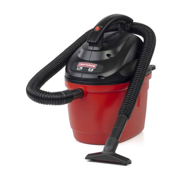 Portable Wet/Dry Vacuum Cleaner
