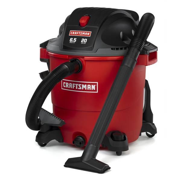 Craftsman Yard Vacuum 4 5 : Craftsman gallon peak hp wet dry vacuum