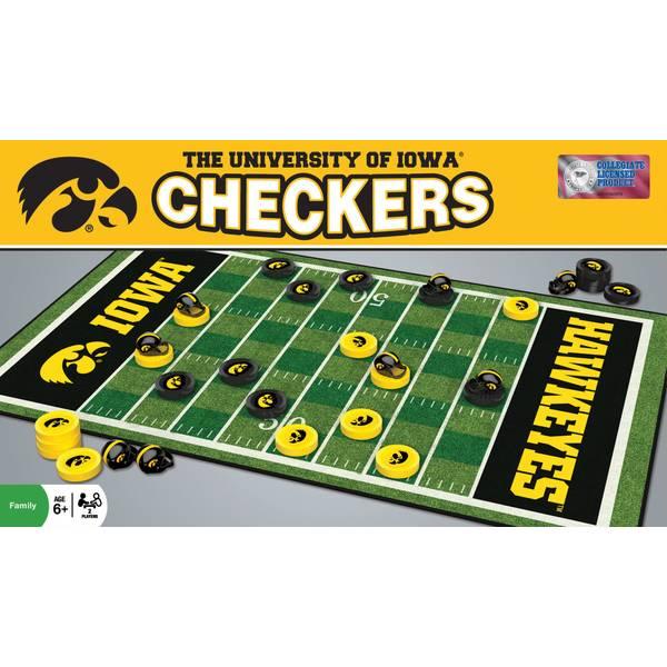NCAA Iowa Checkers Game