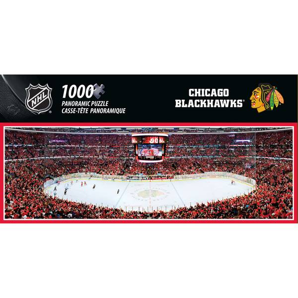 NHL Chicago Blackhawks Arena 1000-Piece Puzzle