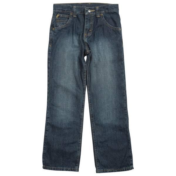Boys' Blue Classic Straight Leg Jeans