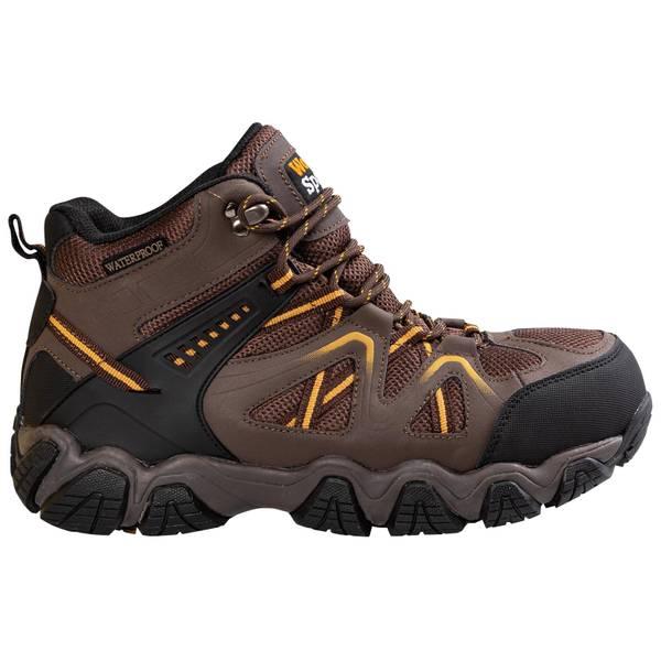 Men's Waterproof Steel Toe Hiker Work Boots