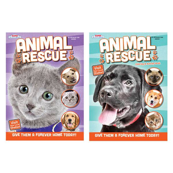 Animal Rescue Coloring Book Assortment
