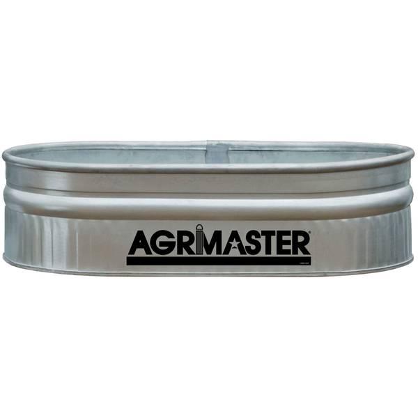 Agrimaster Galvanized Shallow Round End Tank