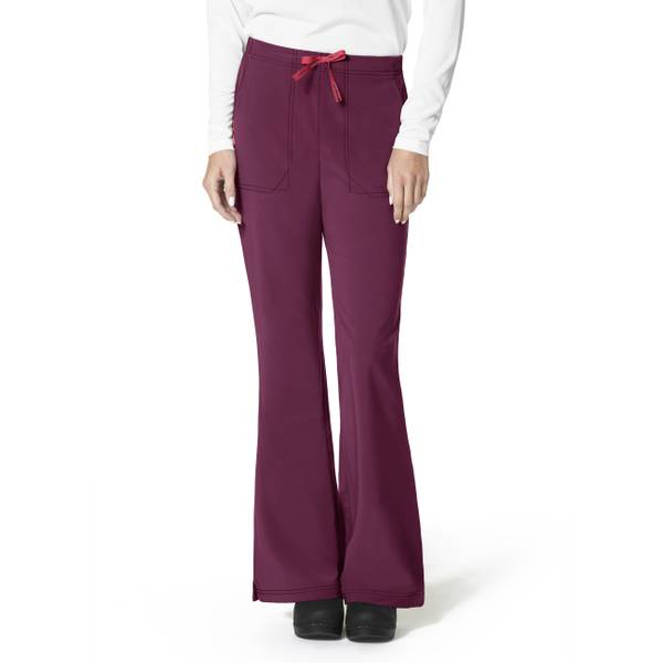 Cross-Flex Flare Scrub Pants
