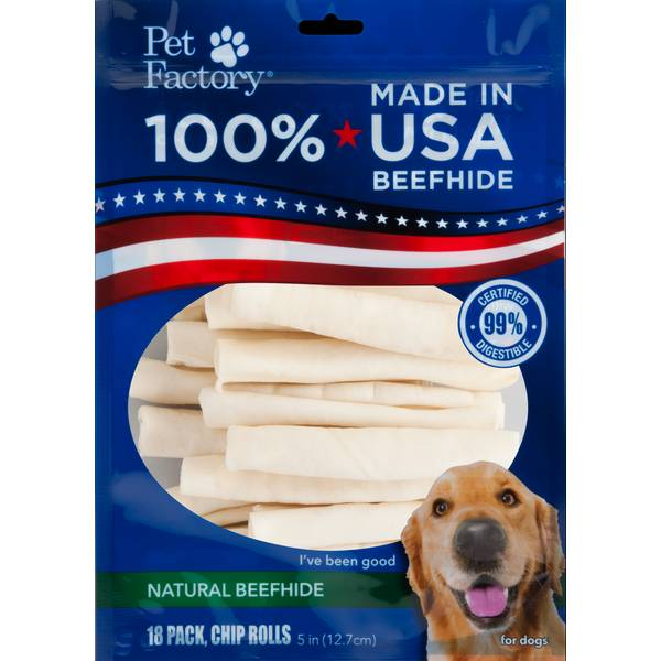 Beefhide Dog Chip Rolls