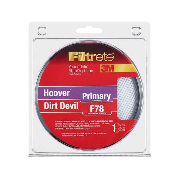 Hoover Vacuum Filter