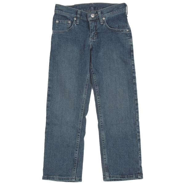 Girls'  Blue Prem Select Straight Fit Jeans