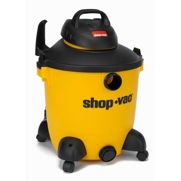 12 Gallon 5.5 Peak HP Wet/Dry Vacuum