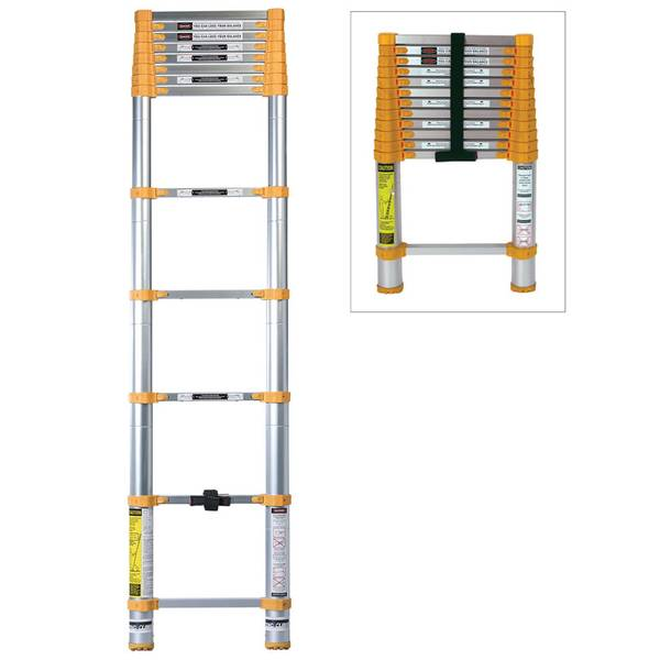 Telescopic Ladder Parts : Xtend climb aluminum telescoping ladder