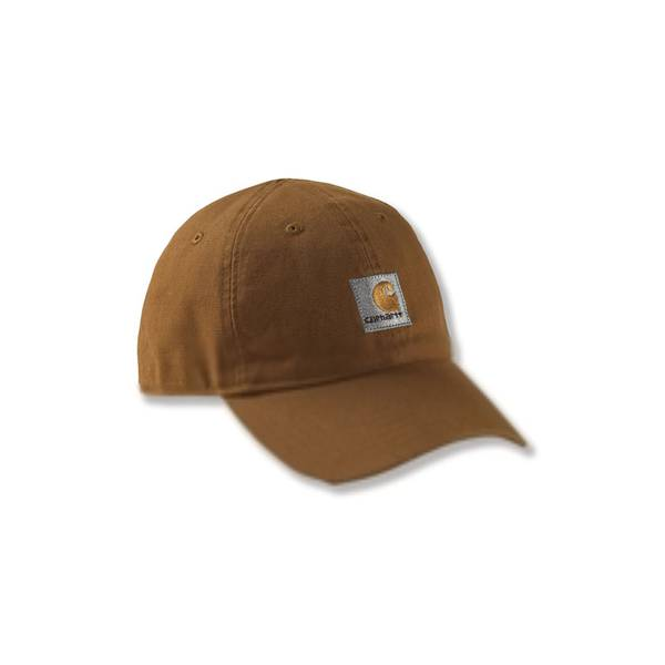 Boys' Brown Signature Canvas Cap