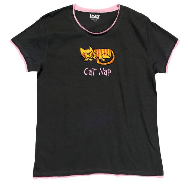 Misses  Cat Nap Tee