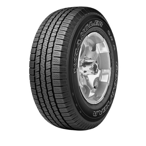 goodyear lt245 75r16 lre wrangler sr a light truck tire. Black Bedroom Furniture Sets. Home Design Ideas