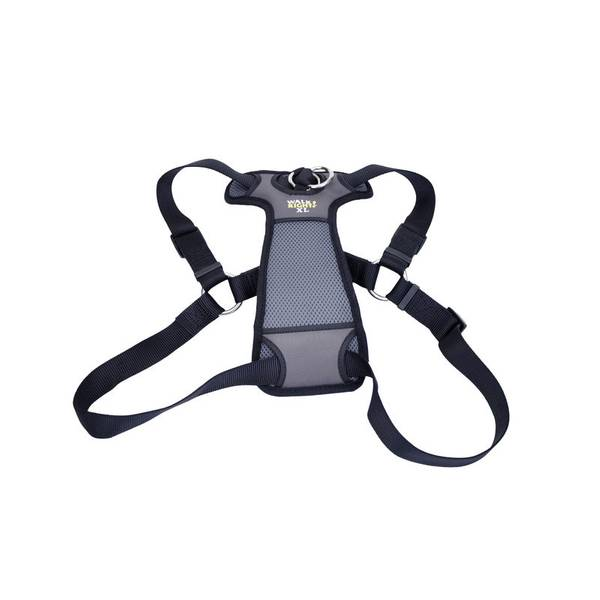 Walk Right Black Padded Front Harness