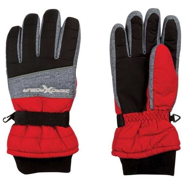 Boy's Red Spike Gloves